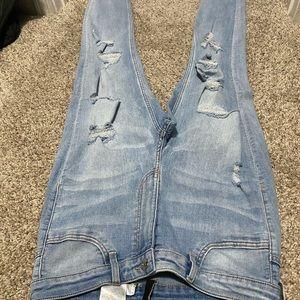 Women's High waist jean.